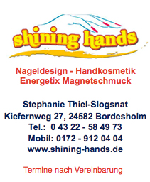 shining hands Bordesholm