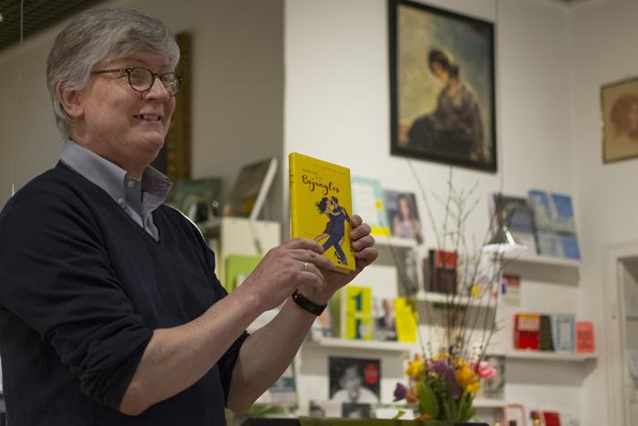 Ahlmannsche Buchhandlung, Christoph Ahlmann-Eltze, Feridun Zaimoglu, Catherine Meurisse,Carsten Jensen,Olivier Bourdeaut