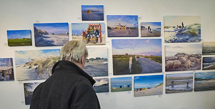 Susanne Wind, Bordesholm, Galerie Göldner