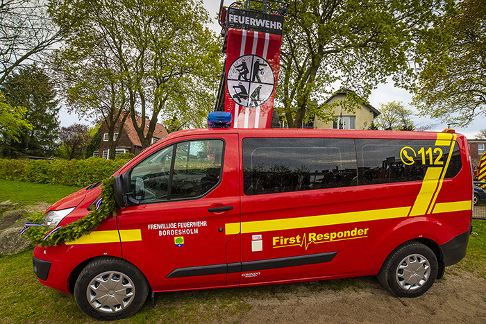 Bordesholm, Feuerwehr, Freiwillige Feuerwehr, Freiwillige Feuerwehr Bordesholm, FFB, Rettungsboot, First Responder Bordesholm, First Responder, Bordi for help, Bordi,