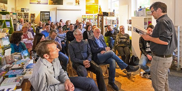 Robert Habeck, Bordesholm, Christoph Ahlmann-Eitze, Ahlmannschen Buchhandlung