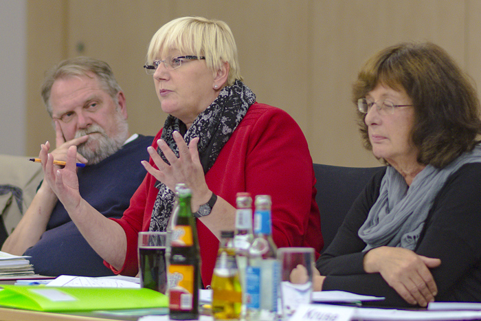 GEMEINDEVERTRETUNGSSITZUNG MIT UNTER ANDEREM DEM THEMA _BORDESHOLMER LINDE_ am 25.09.2018 in Bordesholm,Photo: Michael Slogsnat.