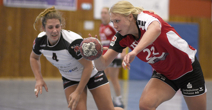;TSV Wattenbek Frauen 1. Frauen - TV Hannover Badenstedt (junge Wilden) am 28.10.2018 in Bordesholm,(Langenheisch 27–29),Hans-Brüggemann-Schule,Photo: Michael Slogsnat.