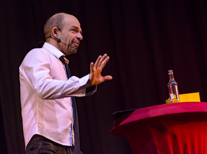 ; THILO SEIBEL IM SAVOY KINO am 08.12.2018 in Bordesholm,(Schulstraße 7),Savoy Kino,Photo: Michael Slogsnat, Bordesholm.