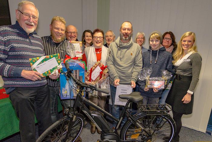 WEIHNACHTSGEWINNSPIEL DER VBB am 19.12.2018 in Bordesholm,(Bahnhofstr. 13),,Photo: Michael Slogsnat, Bordesholm.