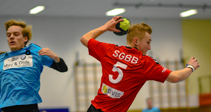 ; HANDBALL SGBB 1.HERREN-BÜDELSDORFER TSV am 26.01.2019 in Bordesholm,(Langenheisch 27–29),,Photo: Michael Slogsnat, Bordesholm.