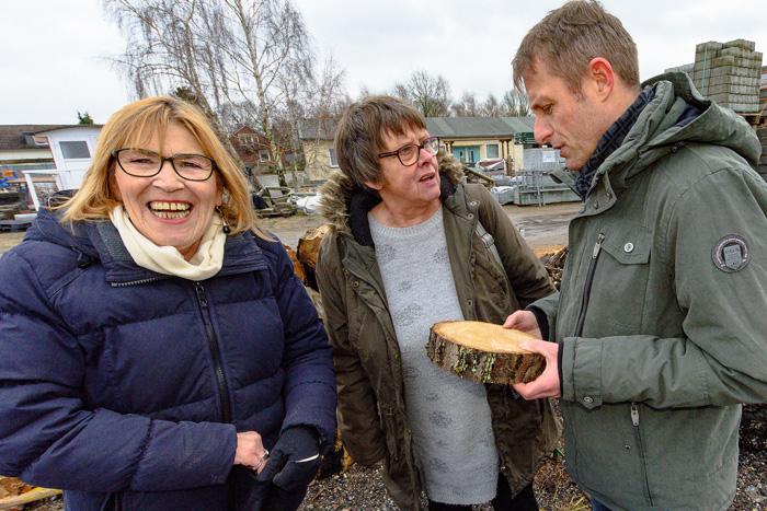 ; 2. Versteigerung des Bruchholz der Bordesholmer Linde am 29.01.2019 in Bordesholm,(Mühlenredder 19a),Technischer Betriebshof (TBH),Photo: Michael Slogsnat, Bordesholm.