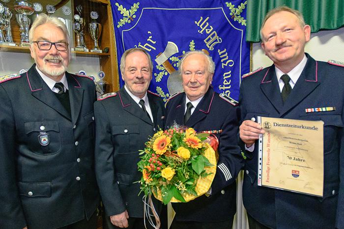 ; FFW Jahreshauptversammlung am 08.02.2019 in Wattenbek,(Schulstraße 11),Feuerwehr Gerätehaus,Photo: Michael Slogsnat, Bordesholm.