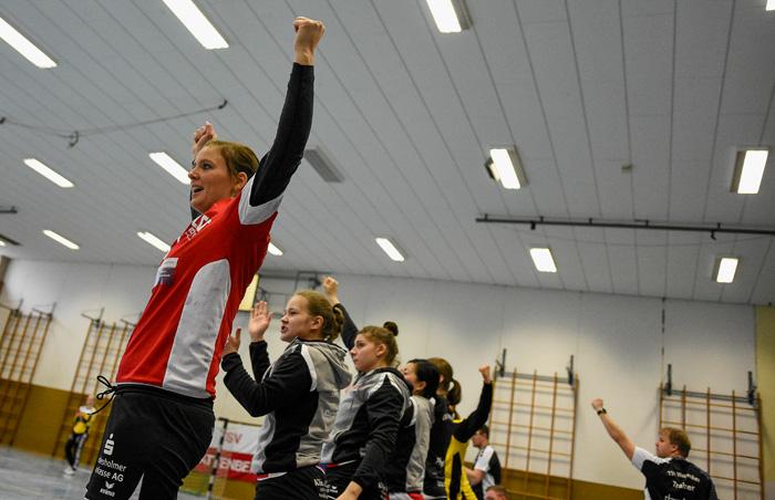 Aber dann.... TSV WATTENBEK - HSG J…RL DE VI…L am 17.03.2019 in Bordesholm, Langenheisch 27Ð29, Hans-BrŸggemann-Schule, Photo: Michael Slogsnat, Bordesholm.