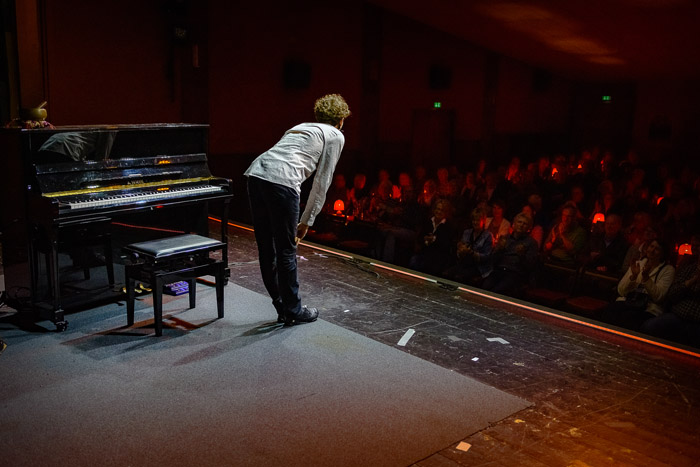 . 20190406_Savoy_Matthias Ningel am 06.04.2019 in Bordesholm, Schulstrasse 7, Savoy Kino Bordesholm, Photo: Michael Slogsnat, Bordesholm.