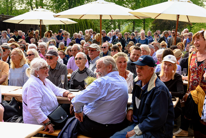 . VERNISSAGE 22. SKULPTURENSOMMER am 18.05.2019 in Bissee, , Hof Reese, Photo: Michael Slogsnat, Bordesholm.