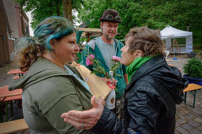 . BORDESHOLMER LINDENMARKT am 09.06.2019 in Bordesholm, Lindenplatz, , Photo: Michael Slogsnat, Bordesholm.