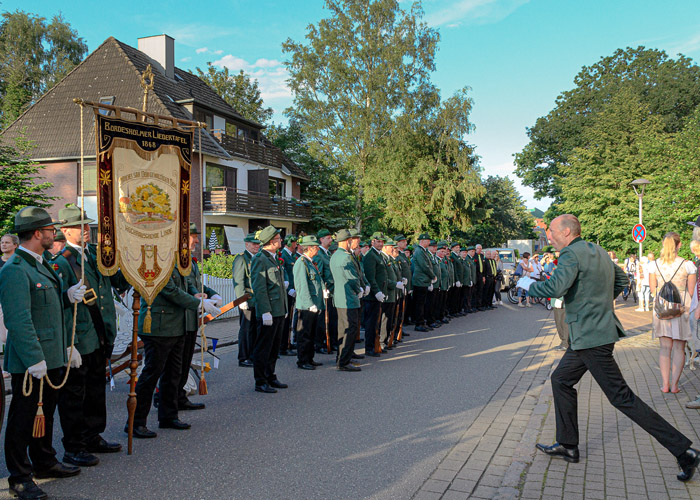 . LIEDERTAFEL VOGELSCHIESSEN am 14.06.2019 in Bordesholm, , , Photo: Michael Slogsnat, Bordesholm.
