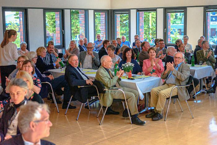 . Lembrecht Verabschiedung am 22.06.2019 in Bordesholm, Mühlenstraße 7, Bordesholmer Rathaus, Photo: Michael Slogsnat, Bordesholm.