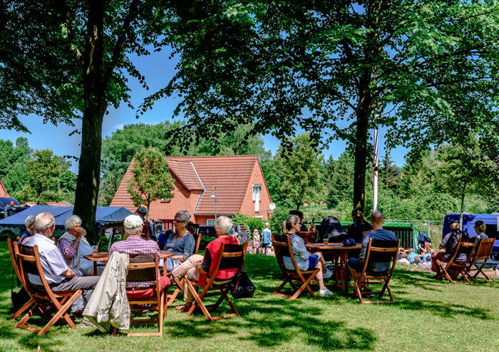 . Fleitenmarkt am 23.06.2019 in Brügge, , , Photo: Michael Slogsnat, Bordesholm.