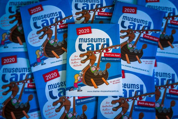 . Bordesholmer Sparkasse_MuseumsCard 2020 am 10.06.2020 in Bordesholm, , , Photo: Michael Slogsnat, Bordesholm.