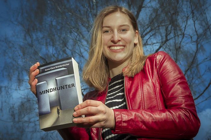 . Anne Klara Breidenbicher-Mindhunter am 10.04.2021 in Langwedel, Melkenkamp 12, , Photo: Michael Slogsnat, Bordesholm.